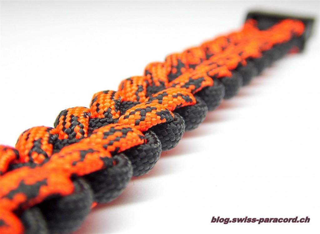 Stitched Solomon Bar (back side) Bracelet