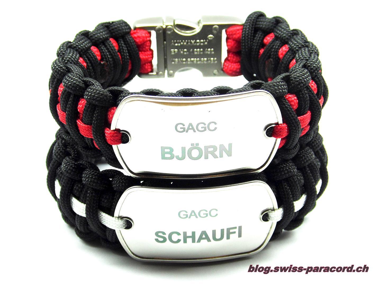 DogTag Armband