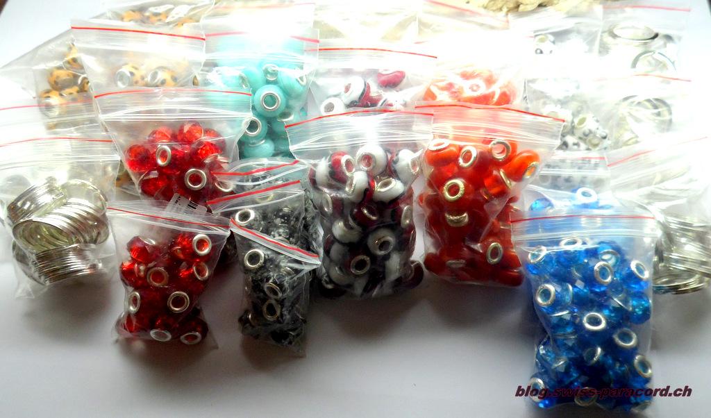 Perlenlieferung