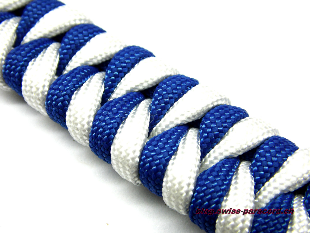 fishtail armband swiss paracord