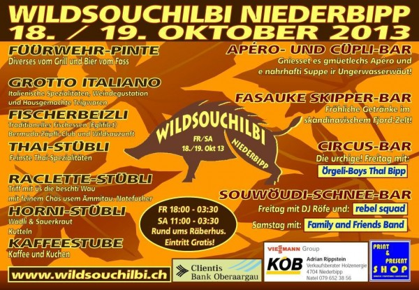 Wildsouchilbi Flyer