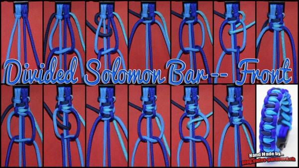 Divided Solomon Bar front