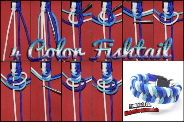 4 Color Fishtail Tutorial