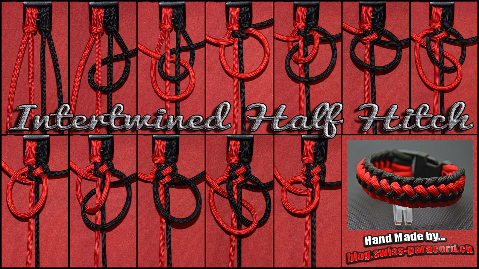 Intertwined Half Hitch Tutorial