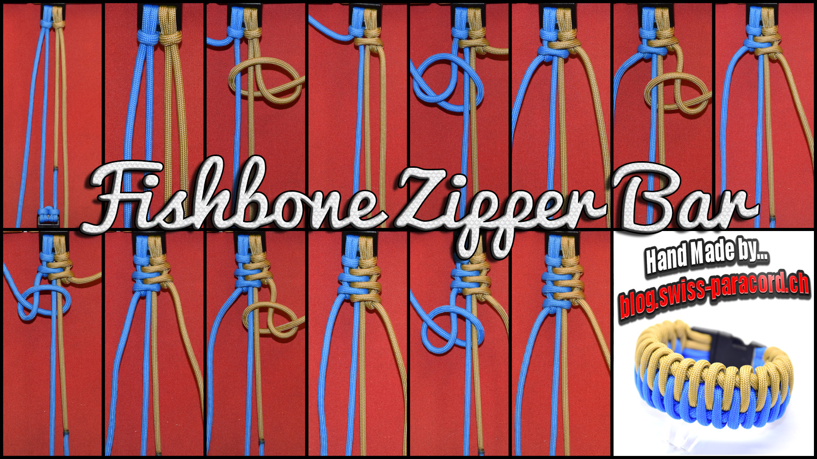 Fishbone Zipper Bar Tutorial