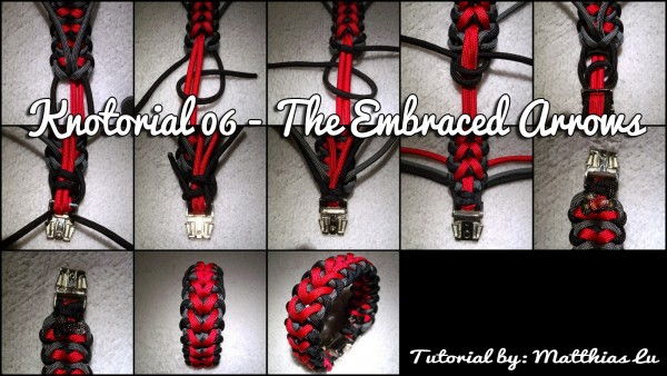 Knotorial 06 - The Embraced Arrows (Bracelet)