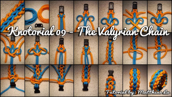 Knotorial 09 - The Valyrian Chain (Bracelet)