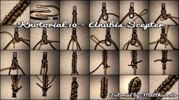Knotorial 10 - Anubis Scepter (Bracelet)