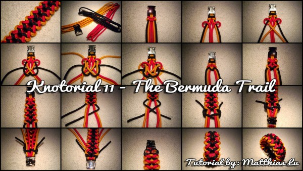 Knotorial 11 - The Bermuda Trail (Bracelet)