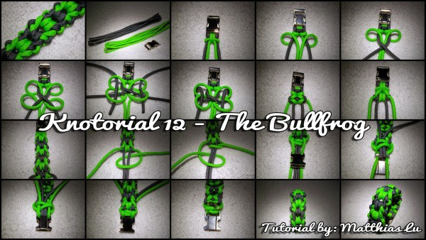 Knotorial 12 - The Bullfrog (Bracelet)