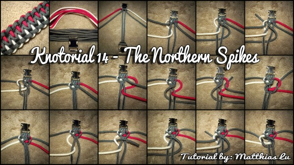 Knotorial 14 - The Northern Spikes (Bracelet)