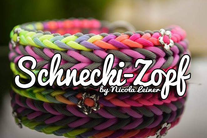 parachute cord dog collar instructions
