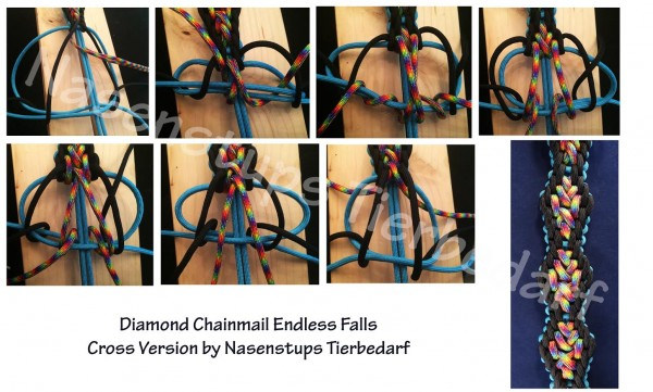 Crossed Diamond Chainmail Endless Falls