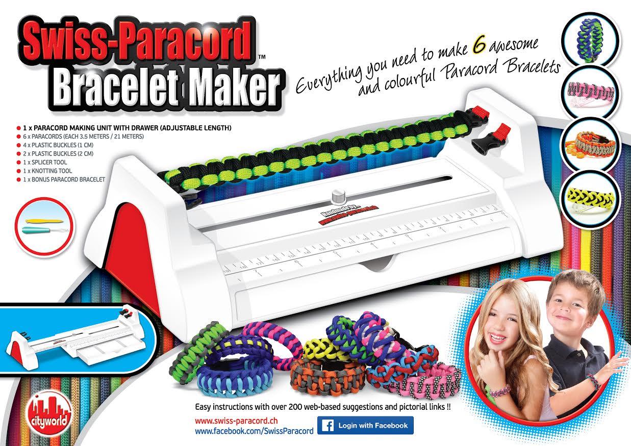 Bracelet Maker Swiss Paracord