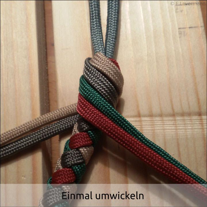 3 Strand Braid End Knot