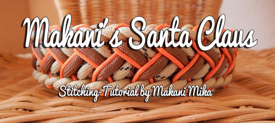 Stitched Makani´s Santa Claus