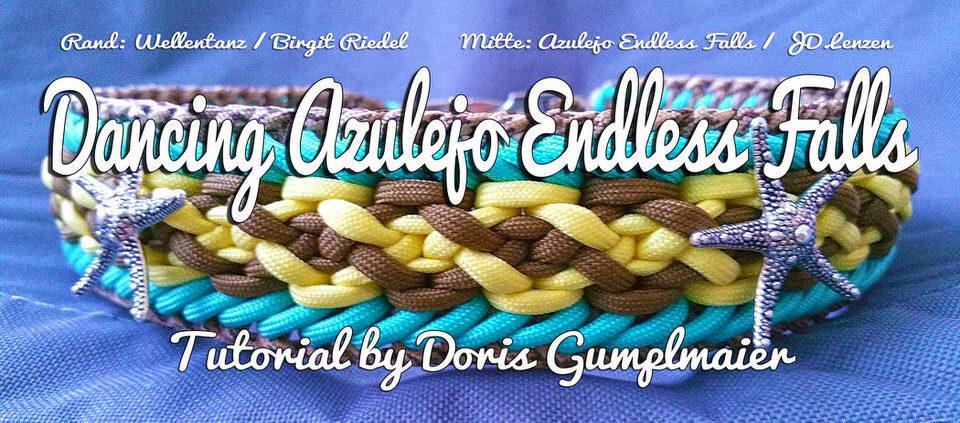 Dancing Azulejo Endless Falls