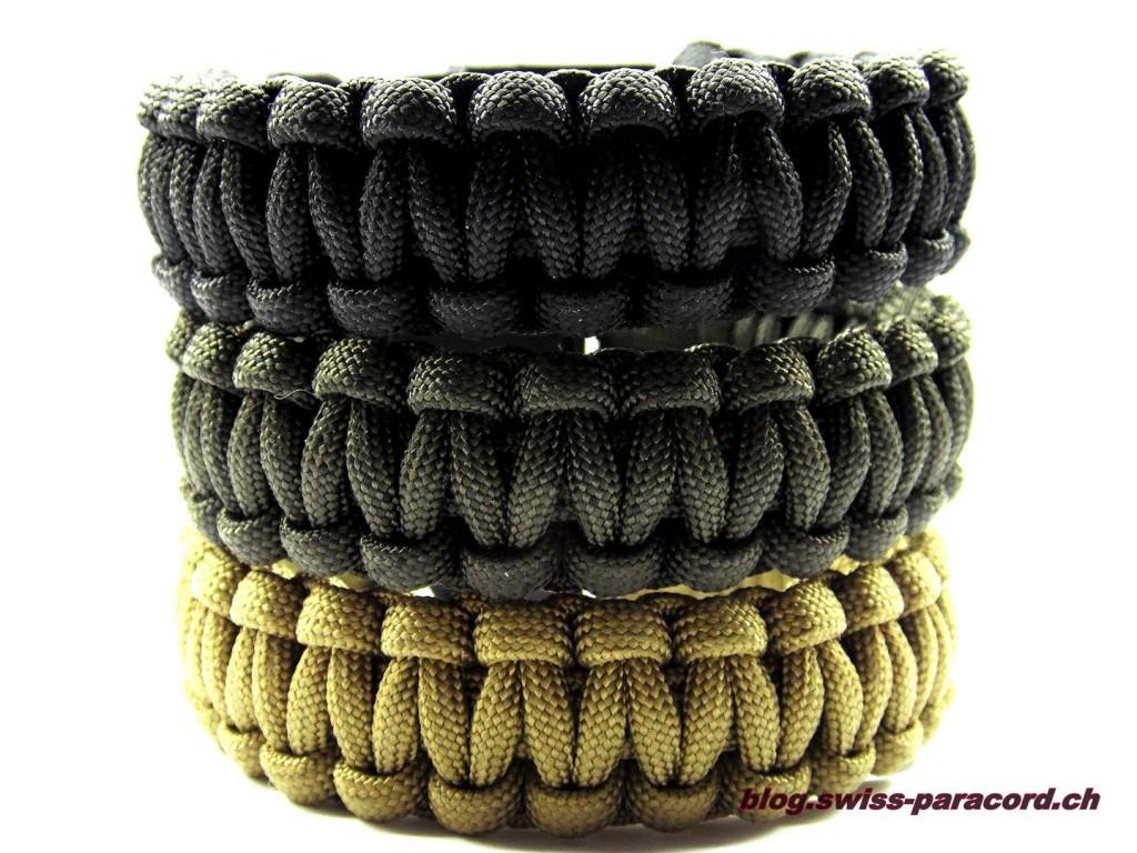 Paracord Armband Cobra Style
