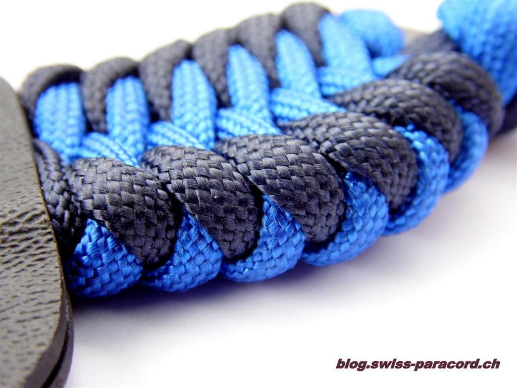 Neck Knife mit Fire and Ice Wicklung
