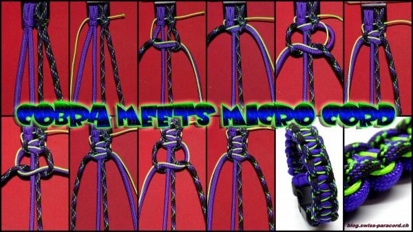 Cobra meets Micro Cord Tutorial