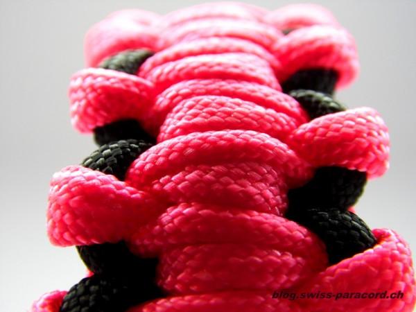 Armband black / pink