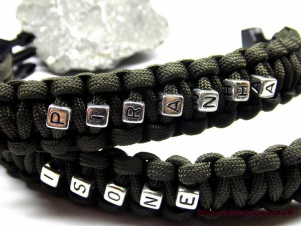 ISONE und PIRANHA Armband