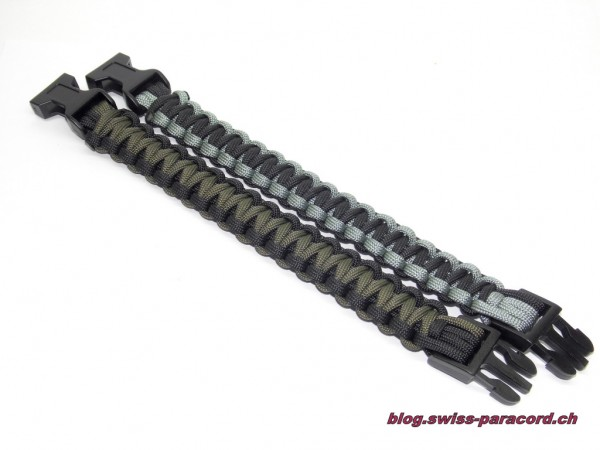 Cobra Bracelet black/od & black/silver