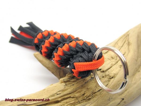Corkscrew Key Fob