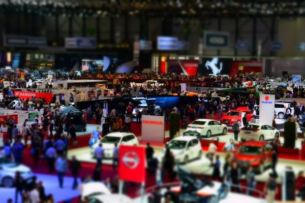Impressionen Autosalon Genf 2014