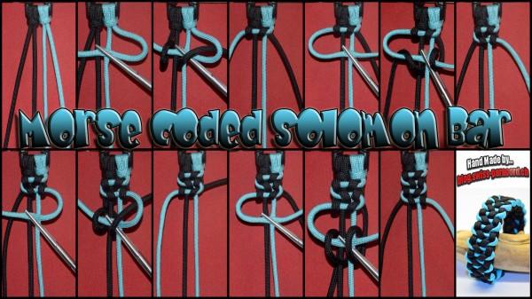 Morse coded Solomon Bar Tutorial
