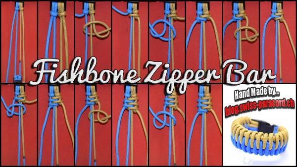 Fishbone Zipper Bar Tutorial