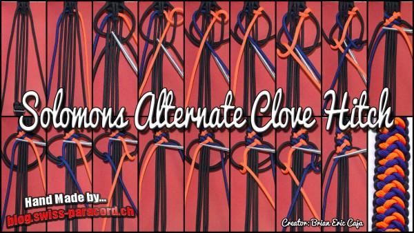 Solomons Alternate Clove Hitch