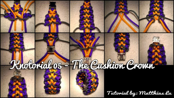Knotorial 05 - The Cushion Crown (Bracelet)