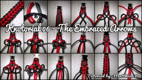 Knotorial 06 - The Embraced Arrows (Bracelet)