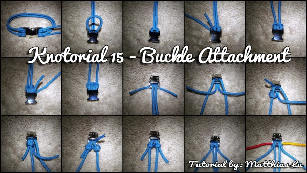Knotorial 15 - Buckle Attachment (Double Cow Hitch)