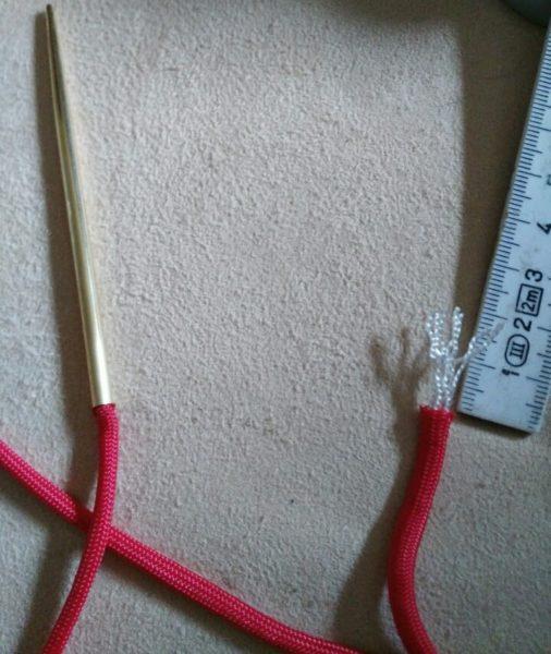 Zu kurzes Cord mit Manny Methode verlängern