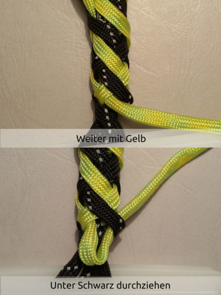 Barber Pole Lanyard