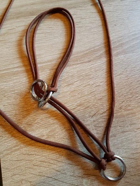 Grundgerüst verstellbares Zugstopp Halsband