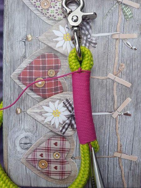 Takeln und 8er Knoten