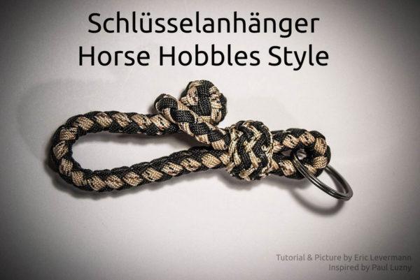 Schlüsselanhänger Horse Hobbles Style