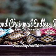 Diamond Chainmail Endless Falls - Breite Version